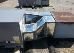 Commercial Rooftop HVAC Unit Repair