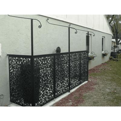 Hide Air Conditioner With Facade