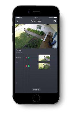 Nest App Video