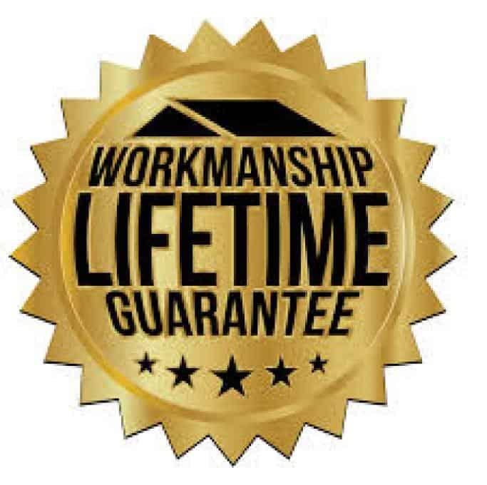 Capital Heating & Cooling's lifetime workmanship guarantee logo